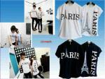 Couple Paris (putih,hitam)