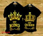 King Queen (hitam,putih)