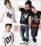 Love Kuping (hitam,putih)