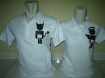 polo couple devil n angel putih a
