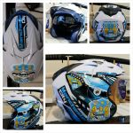 HELM MAN CITY PUTIH