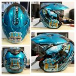 HELM MAN CITY BIRU